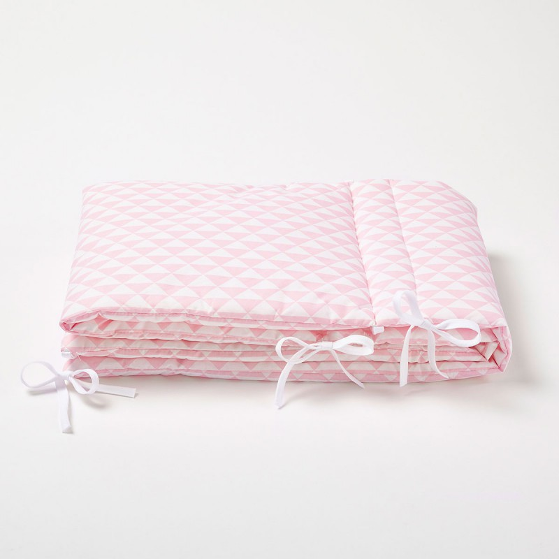 tour de lit rose pour fille cocoeko. Black Bedroom Furniture Sets. Home Design Ideas