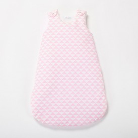 gigoteuse bebe fille triangle rose layette