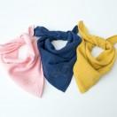 langes bebe gaze coton rose bleu mouarde
