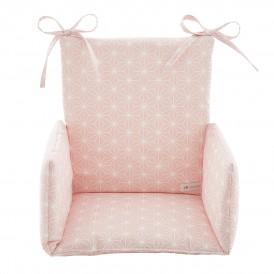 Coussin de chaise haute ASANOHA ROSE