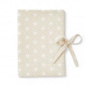 Protege carnet de sante asanoha beige