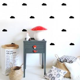 stickers nuage noir
