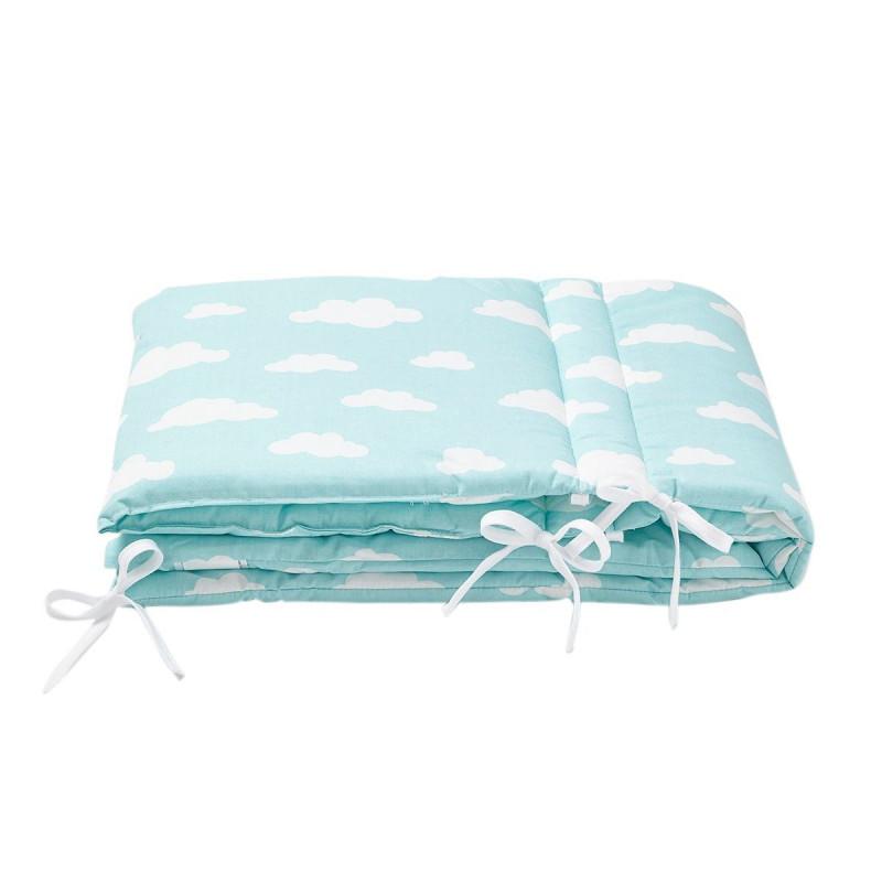 tour de lit nuage pour b b cocoeko. Black Bedroom Furniture Sets. Home Design Ideas