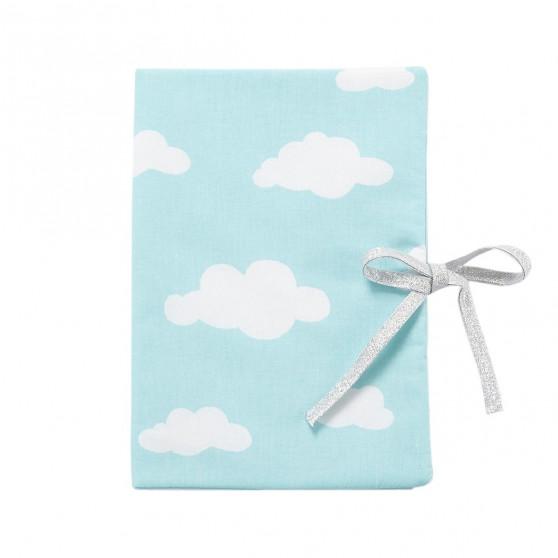 Protège carnet de santé bébé nuage