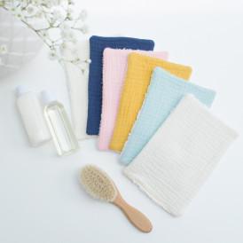 Lingettes lavables bambou / gaze de coton