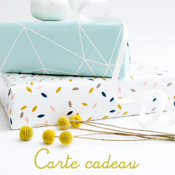 e-carte cadeau Cocoeko 40
