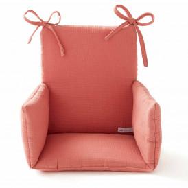 Coussin chaise haute en gaze de coton MARSALA