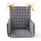 Coussin chaise haute VICHY
