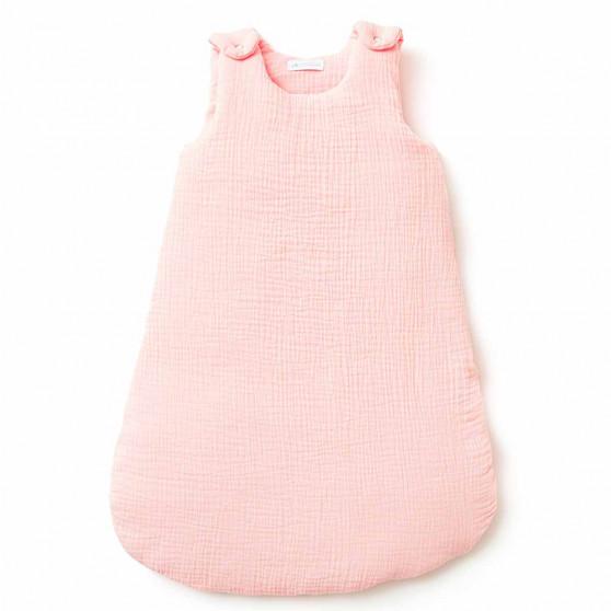 Gigoteuse bébé en gaze de coton ROSE BLUSH