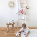 Cape de bain bébé ETOILES BLEU GLACIER