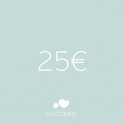 e-carte cadeau Cocoeko 25