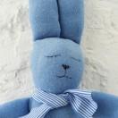 Doudou Lapin Bleu portrait Modèle réduit