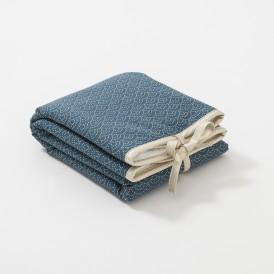 gigoteuse gar on bleu canard fabriqu e en france cocoeko. Black Bedroom Furniture Sets. Home Design Ideas