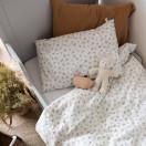 Taie d'oreiller enfant gaze de coton CAMEL