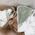 Cape de bain bébé NEW VERT SAUGE