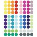 Stickers muraux enfant pois multicolore pom 2
