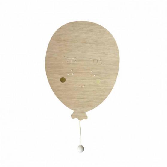 Boîte à musique ballon en bois - April Eleven