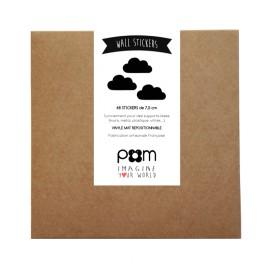 boite stickers nuage noir