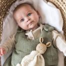 Gigoteuse bébé en double gaze de coton VERT SAUGE