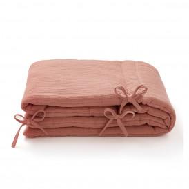 Tour de lit en gaze de coton MARSALA