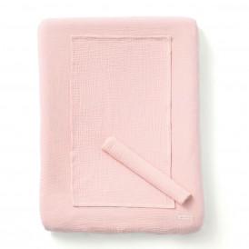 Housse de matelas à langer + 2 langes ROSE BLUSH