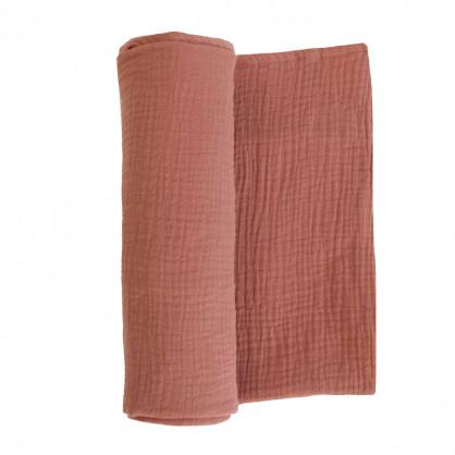 Maxi-lange en gaze de coton MARSALA