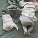 Lange bébé en gaze de coton SAUGE