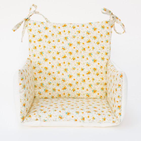 Coussin chaise haute bebe Sixtine