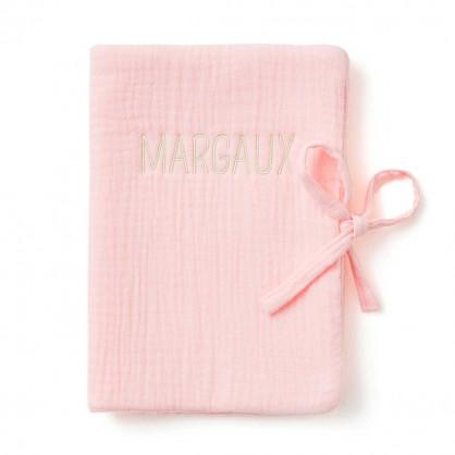 Protège carnet de santé ROSE BLUSH