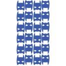 Planche Stickers Masque heros bleu