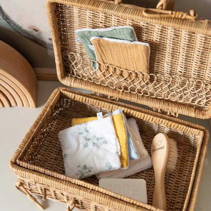 Semainier de lingettes lavables