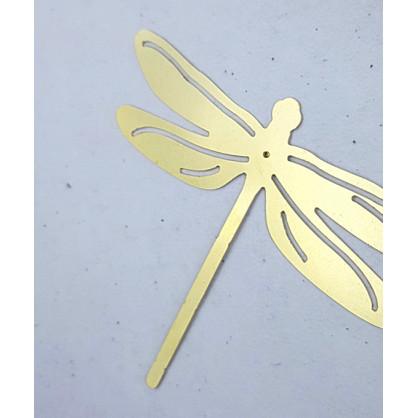 Libellule en laiton - Delphine Plisson