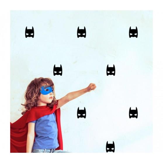 pom le bonhomme stickers super hero