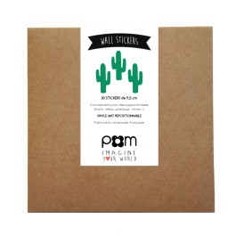 Stickers Cactus vert
