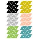 planche stickers triangle cosy pom le bonhomme