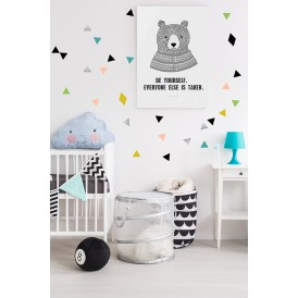 Stickers triangle cosy