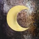 Lune dorée laiton